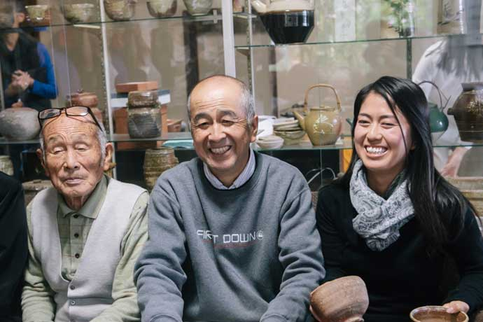 Takahashi Rakusai three generations
