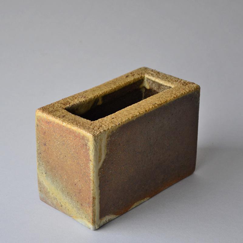 Wood Fired Horizontal Vase Medium Bill Geisinger Entoten